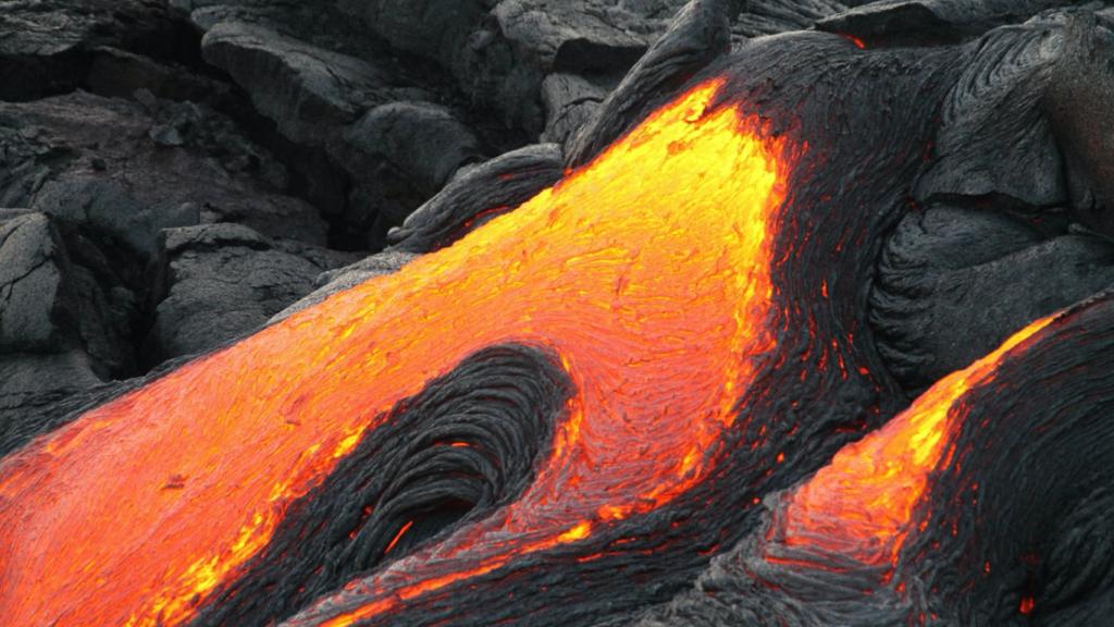 地球のチャクラ ハワイキラウエア山