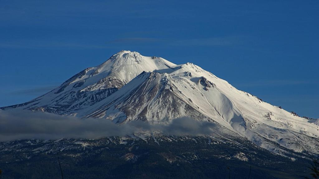 地球のチャクラ シャスタ山